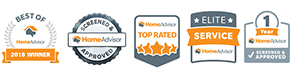 home advisor badges